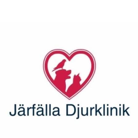 Järfälla Djurklinik, AB logo