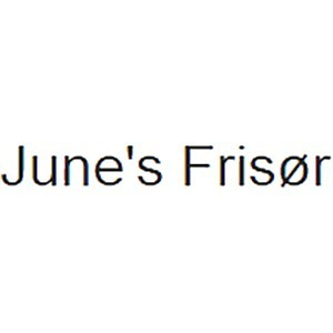 June's Frisør logo