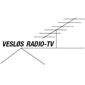 Vesløs Radio-TV logo