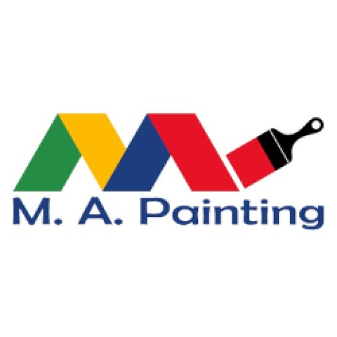 M.A. Painting logo