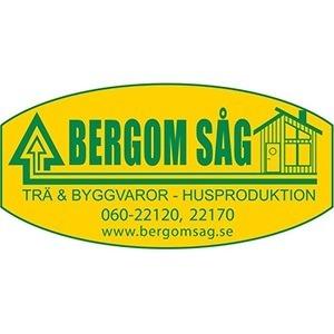 Bergom Såg AB logo