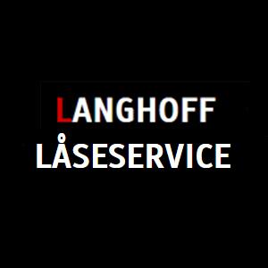 Langhoff Låseservice logo