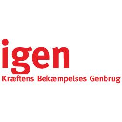 Kræftens Bekæmpelses Genbrug - Igen Næstved logo