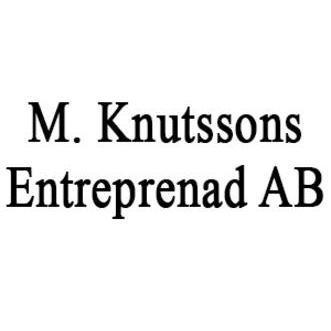 M. Knutssons Entreprenad AB logo