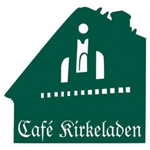Cafe Kirkeladen logo
