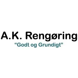 A K Rengøring logo