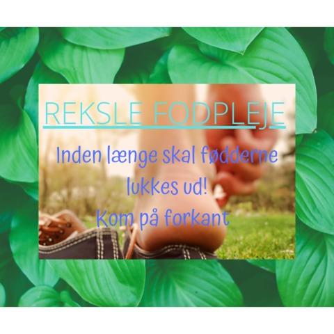 Reksle Fodpleje v/Lisbeth Ingeborg Reksle logo