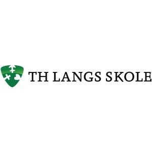 Th. Langs Skole logo
