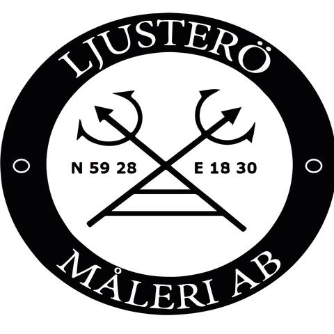Ljusterö Måleri AB logo