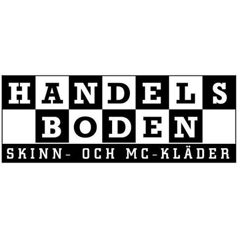 Handelsboden Skinn & Mc-Kläder Västerås logo