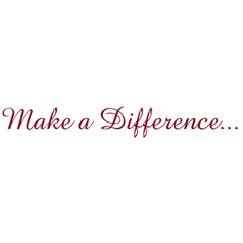 Make a Difference... logo