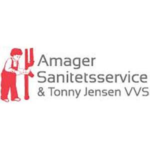Amager Sanitetsservice og Tonny Jensen VVS A/S logo