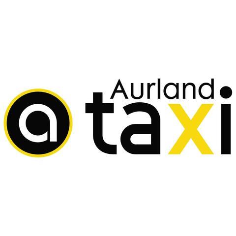 Aurland Taxi logo
