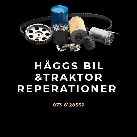 Häggs bil- & traktorreparationer logo