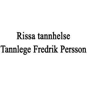 Rissa tannhelse tannlege Fredrik Persson logo