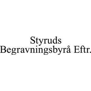 Begravningsbyrå Eftr., Styruds logo