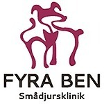 Fyra Ben Smådjursklinik logo