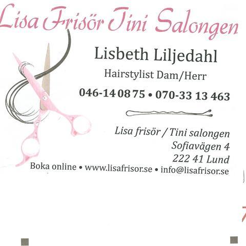 Lisa Frisör / TiniSalongen logo