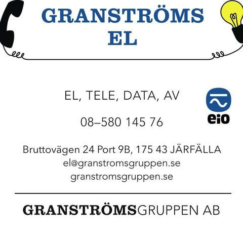 Granströms El logo