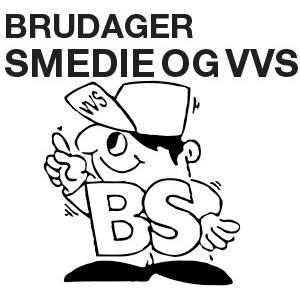 Brudager Smedie & VVS logo