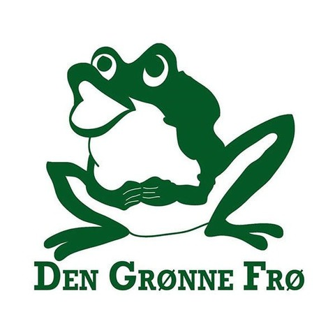 Den Grønne Frø - Selskabslokale logo