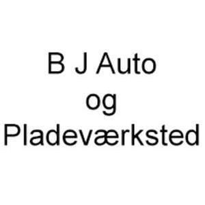 B J Auto og Pladeværksted logo