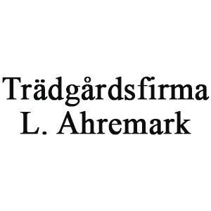 Trädgårdsfirma L. Ahremark logo