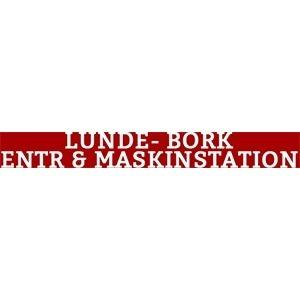 Lunde-Bork Entr. & Maskinstation logo