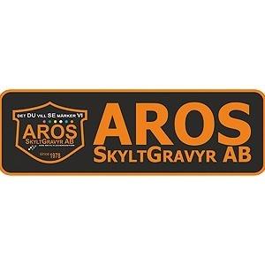 AROS SkyltGravyr AB logo