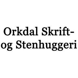 Orkdal Skrift- og Stenhuggeri logo