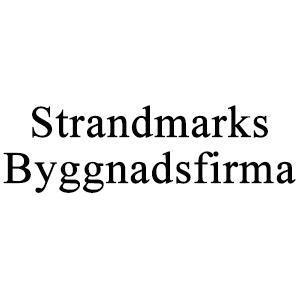Strandmarks Byggnadsfirma logo