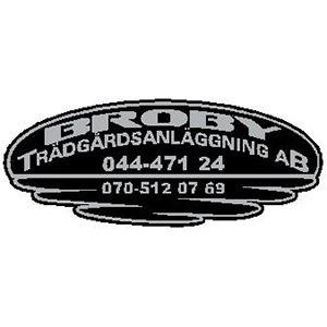 Broby Trädgårdsanläggning AB logo