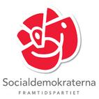 Socialdemokraterna Mjölby Arbetarekommun logo