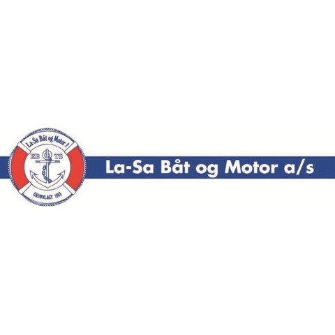 La-Sa Båt og Motor AS logo