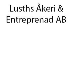 Lusths Åkeri & Entreprenad AB logo