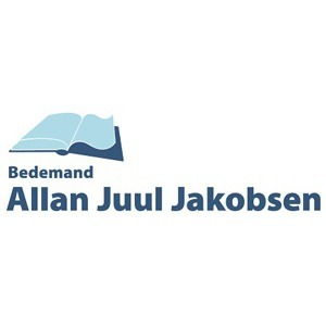 Bedemand Allan Juul Jakobsen logo