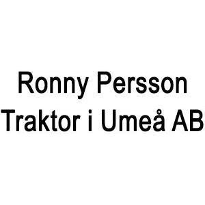Ronny Persson Traktor i Umeå AB logo