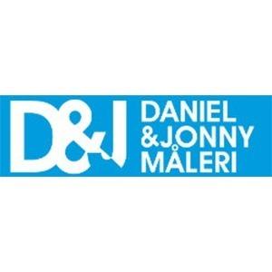 Daniel & Jonny Måleri, AB logo