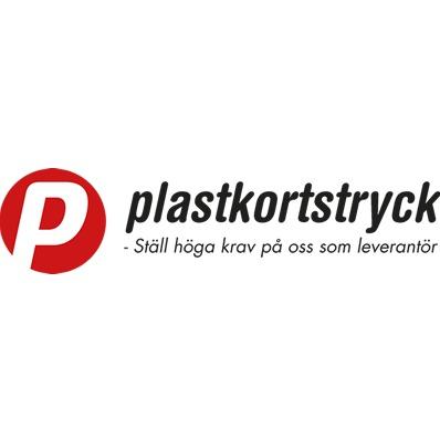 Plastkortstryck logo