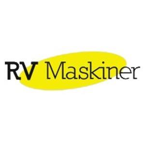 R V Maskiner logo