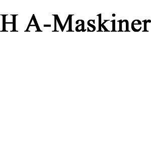 H A-Maskiner logo