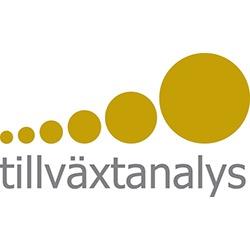 Tillväxtanalys, myndigheten för tillväxtpolitiska utvärderingar och analyser logo