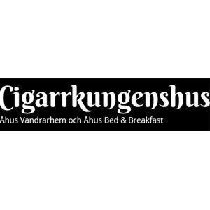 Cigarrkungenshus Bed & Breakfast och STF Vandrarhem i Åhus logo