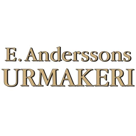 E. Anderssons Urmakeri AB logo