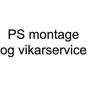 PS montage og vikarservice logo