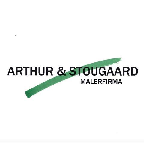Arthur & Stougaard Malerfirma ApS logo