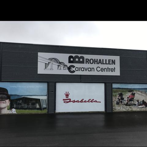 Caravan Centret Brohallen logo