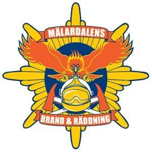 Mälardalens Brand- och Räddningsförbund logo