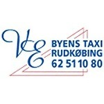 Byens Taxi Rudkøbing logo