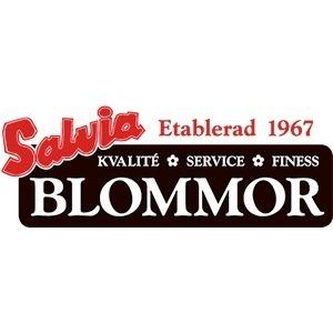 Salvia Blommor logo